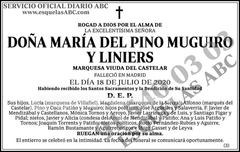 María del Pino Muguiro y Liniers