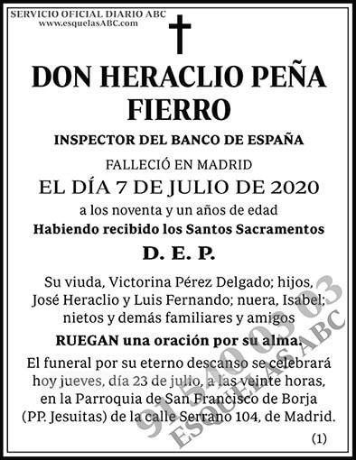 Heraclio Peña Fierro
