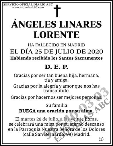 Ángeles Linares Lorente