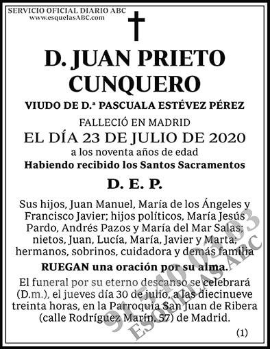Juan Prieto Cunquero