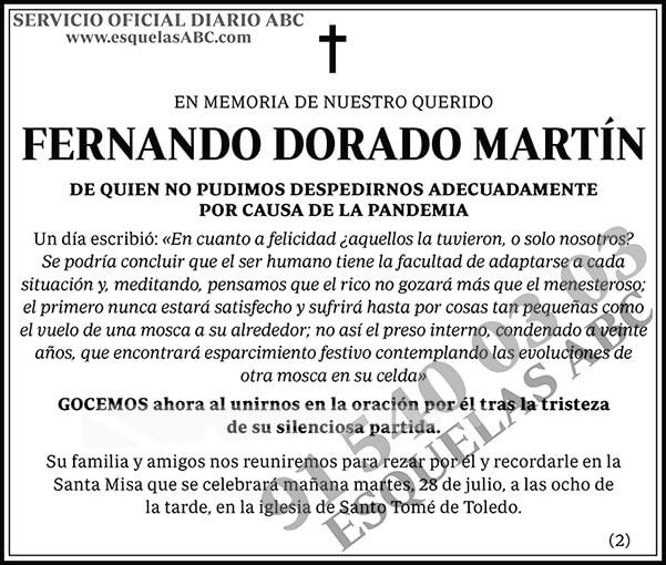 Fernando Dorado Martín