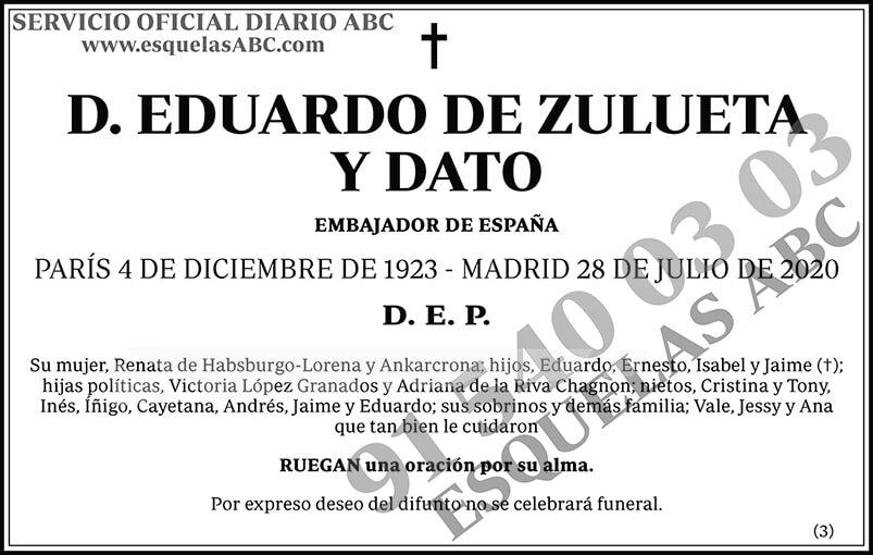 Eduardo de Zulueta y Dato