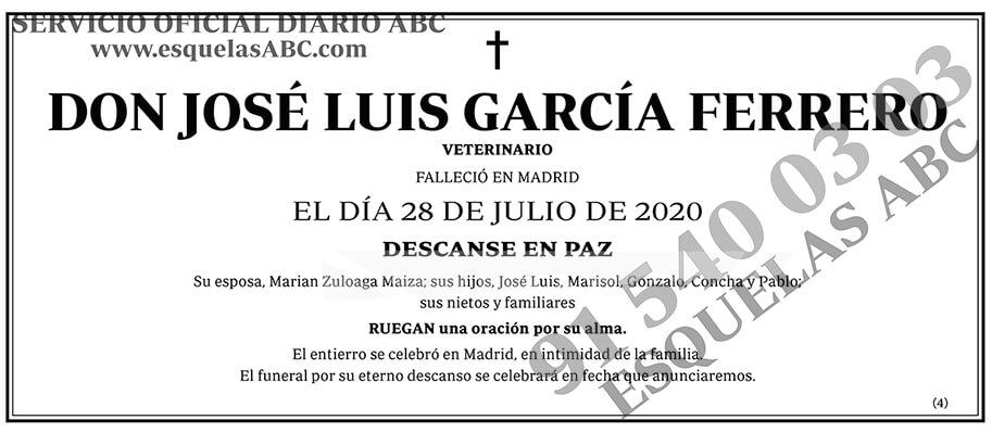 José Luis García Ferrero