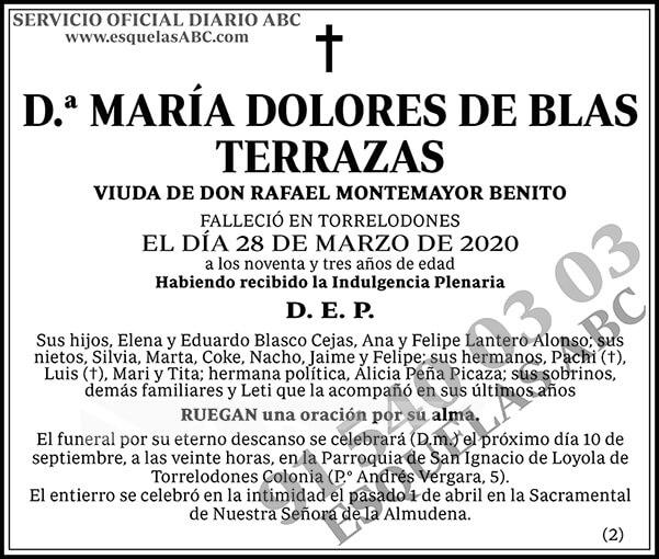 María Dolores de Blas Terrazas