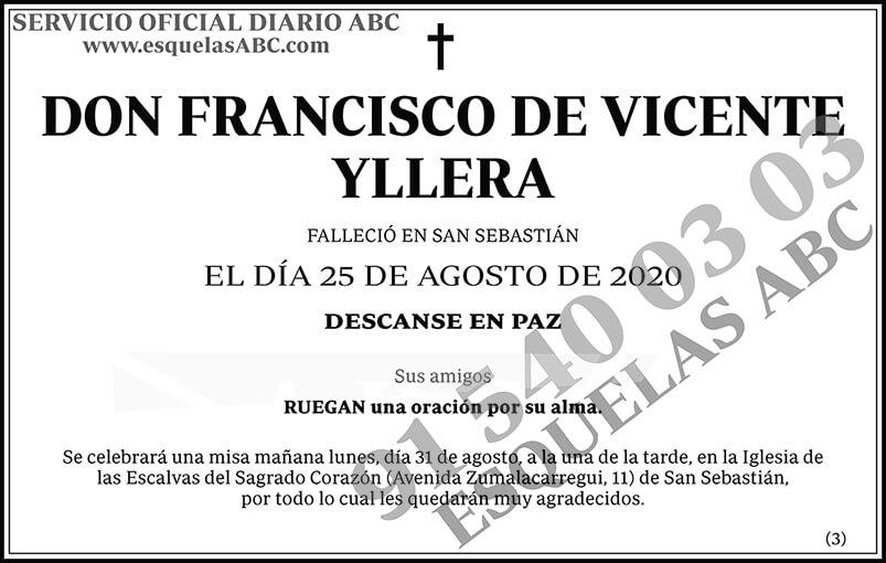 Francisco de Vicente Yllera