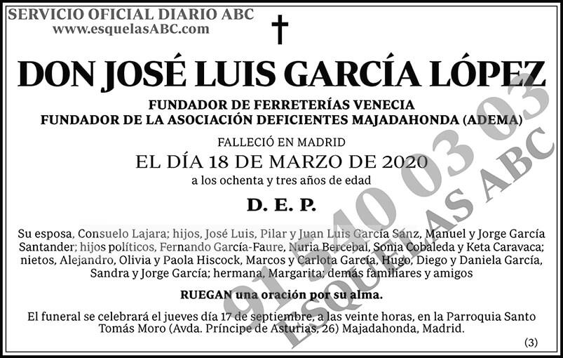 José Luis García López