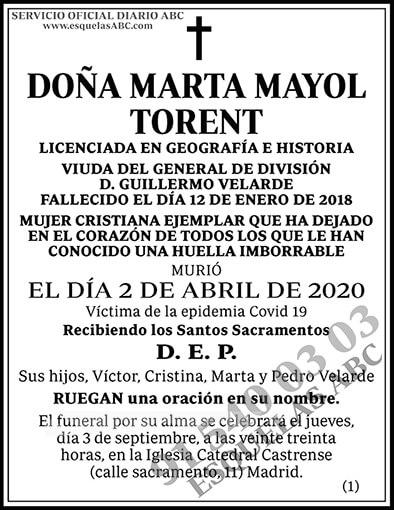 Marta Mayol Torent