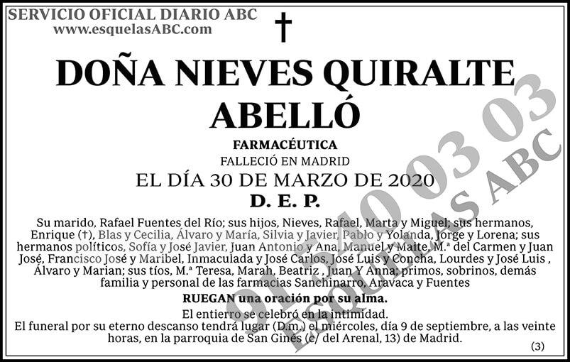 Nieves Quiralte Abelló