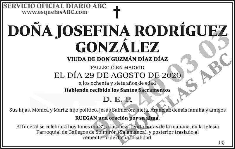 Josefina Rodríguez González