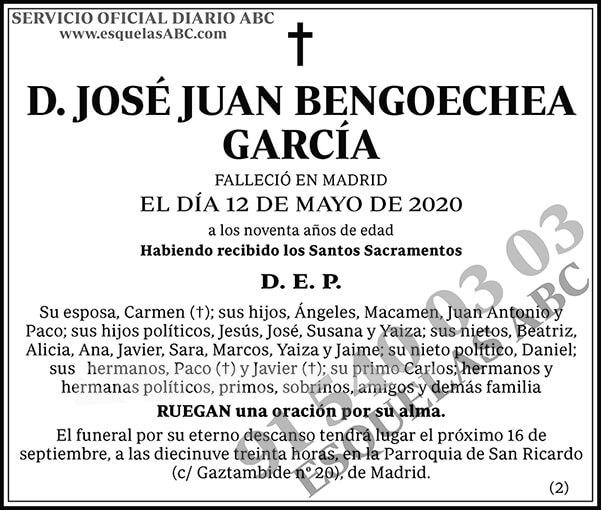 José Juan Bengoechea García