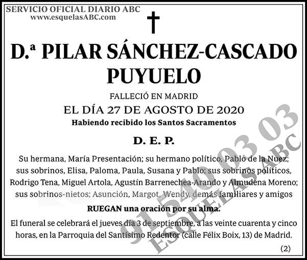 Pilar Sánchez-Cascado Puyuelo