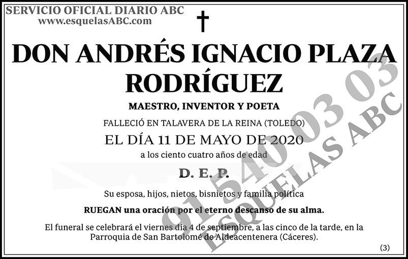 Andrés Ignacio Plaza Rodríguez