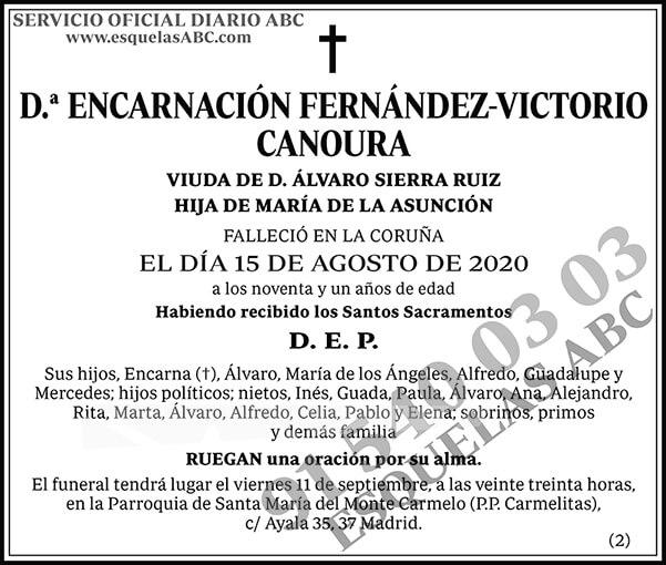 Encarnación Fernández-Victorio Canoura