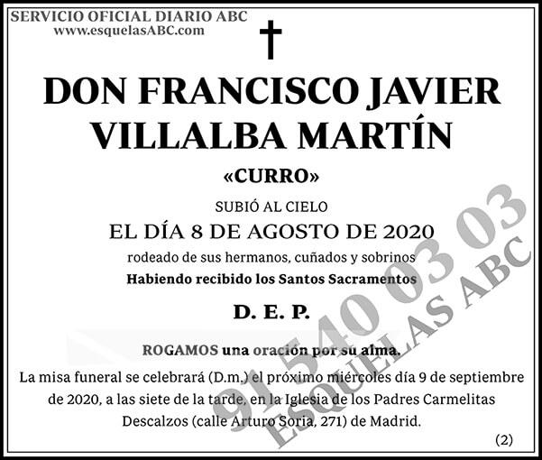 Francisco Javier Villalba Martín