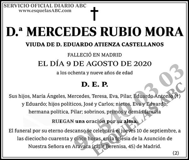 Mercedes Rubio Mora