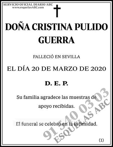 Cristina Pulido Guerra