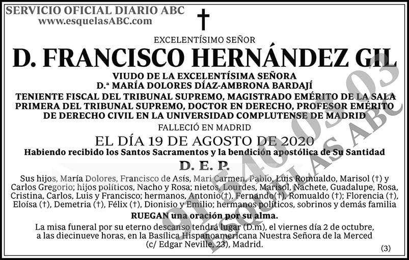 Francisco Hernández Gil