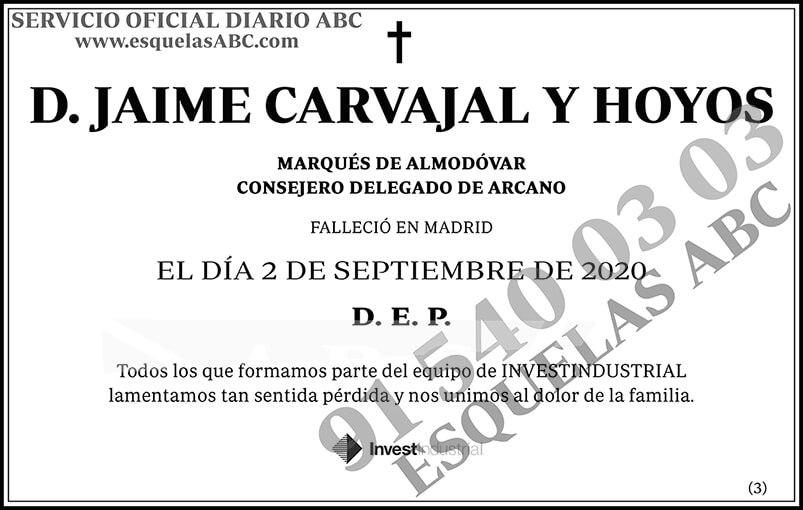 Jaime Carvajal y Hoyos