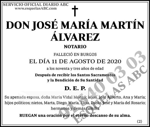 José María Martín Álvarez