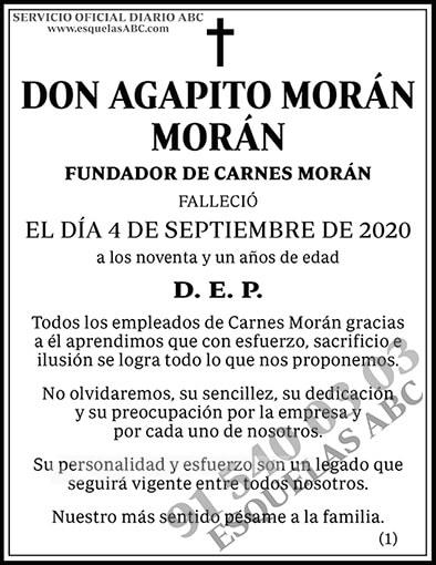 Agapito Morán Morán