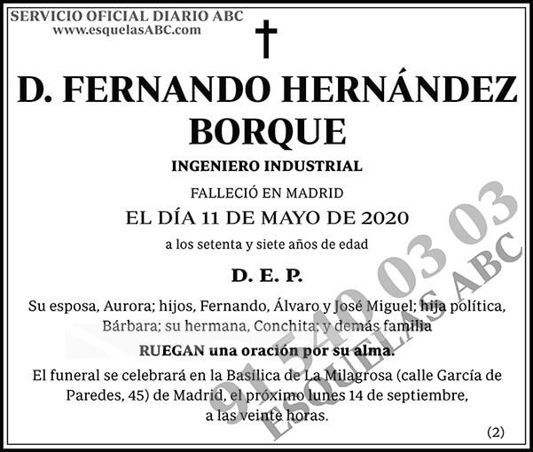 Fernando Hernández Borque