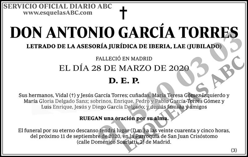 Antonio García Torres