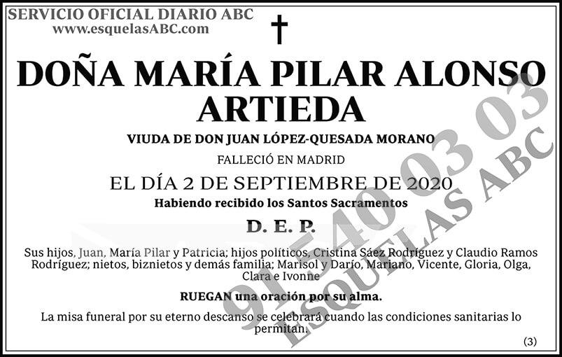 María Pilar Alonso Artieda