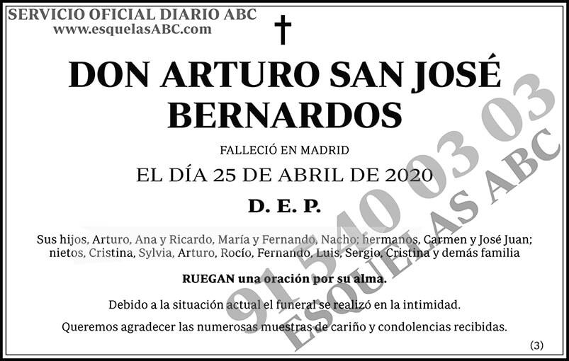 Arturo San José Bernardos