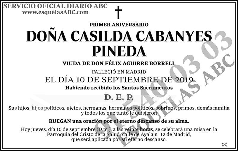 Casilda Cabanyes Pineda