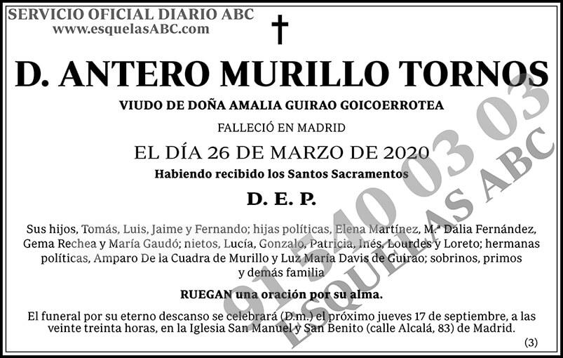 Antero Murillo Tornos