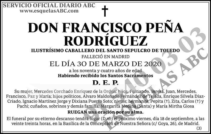 Francisco Peña Rodríguez