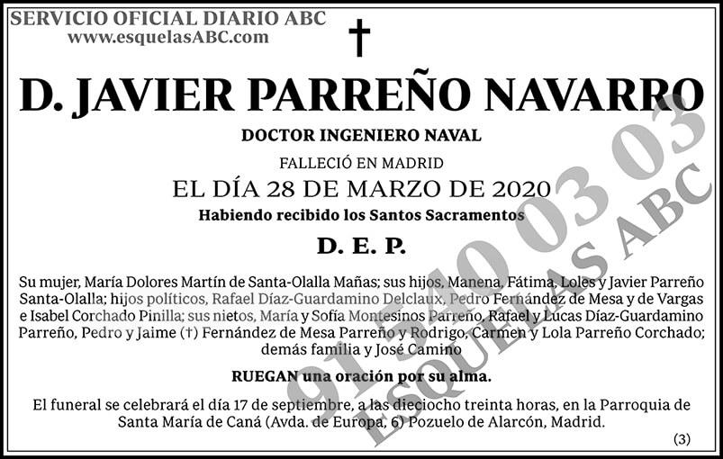 Javier Parreño Navarro
