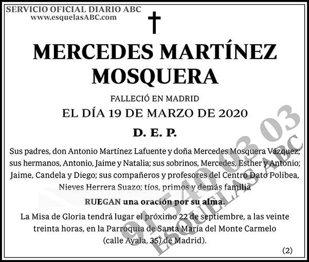 Mercedes Martínez Mosquera