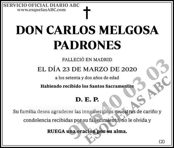 Carlos Melgosa Padrones