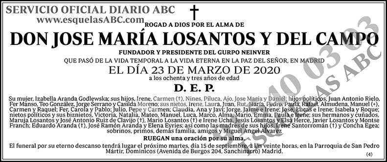 José María Losantos y del Campo