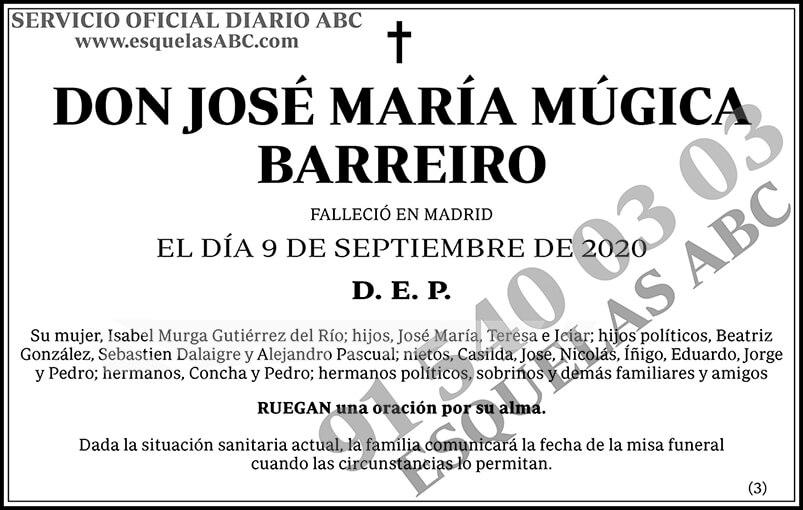 José María Múgica Barreiro