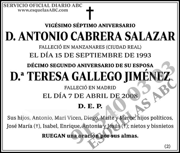 Antonio Cabrera Salazar