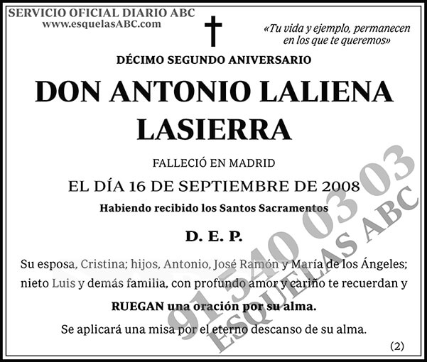 Antonio Laliena Lasierra