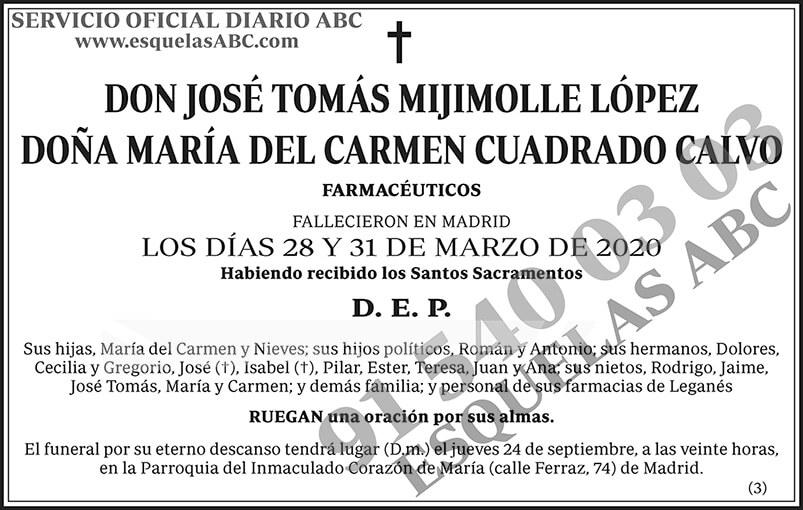 José Tomás Mijimolle López