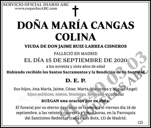 María Cangas Colina