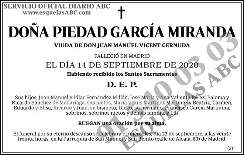 Piedad García Miranda