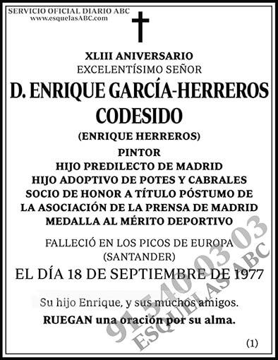 Enrique García-Herreros Codesido