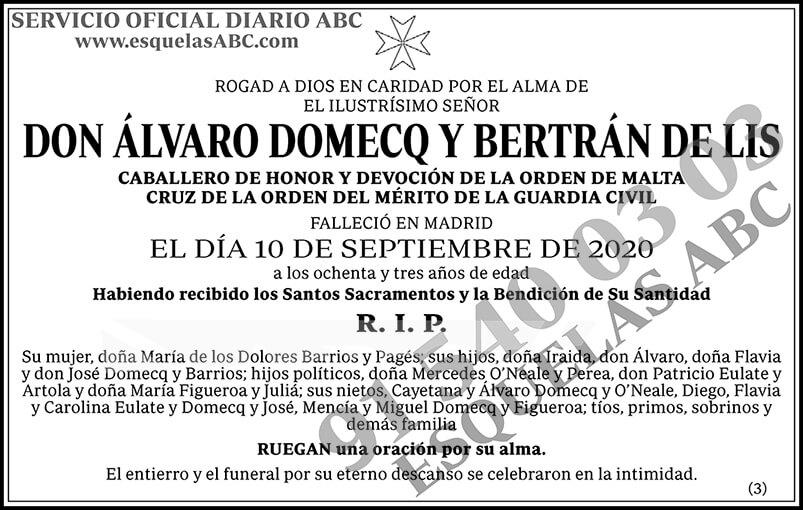 Álvaro Domecq y Bertrán de Lis