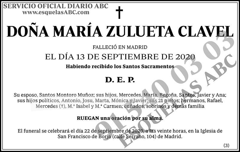 María Zulueta Clavel