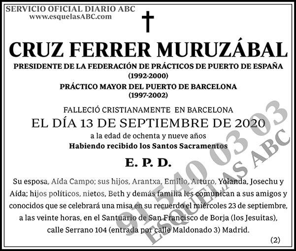 Cruz Ferrer Muruzábal