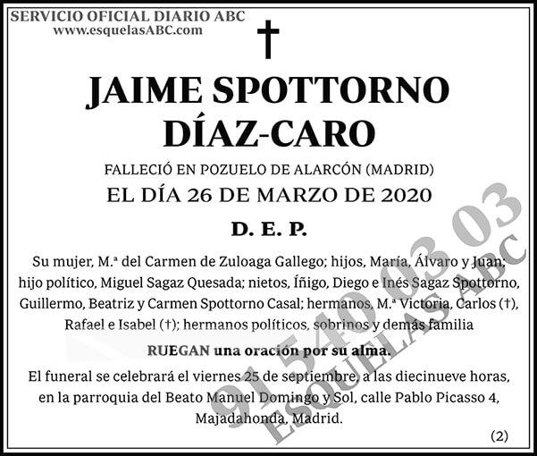 Jaime Spottorno Díaz-Caro