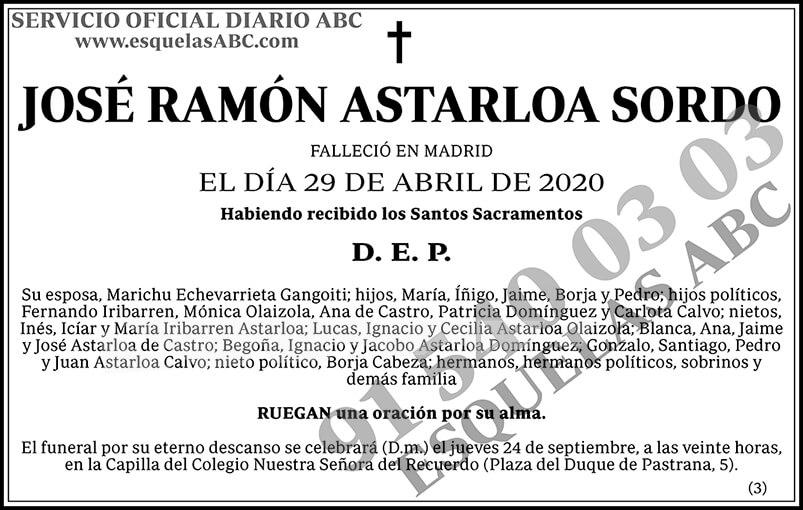 José Ramón Astarloa Sordo