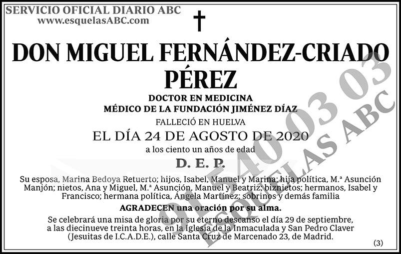 Miguel Fernández-Criado Pérez