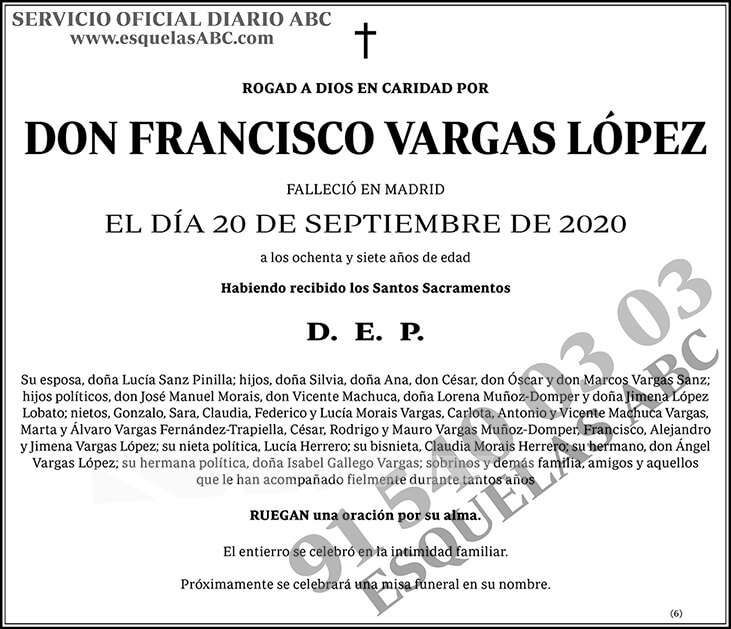 Francisco Vargas López