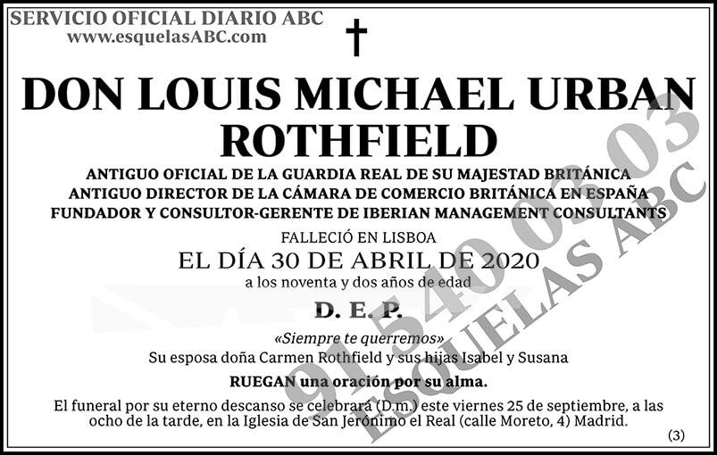 Louis Michael Urban Rothfield